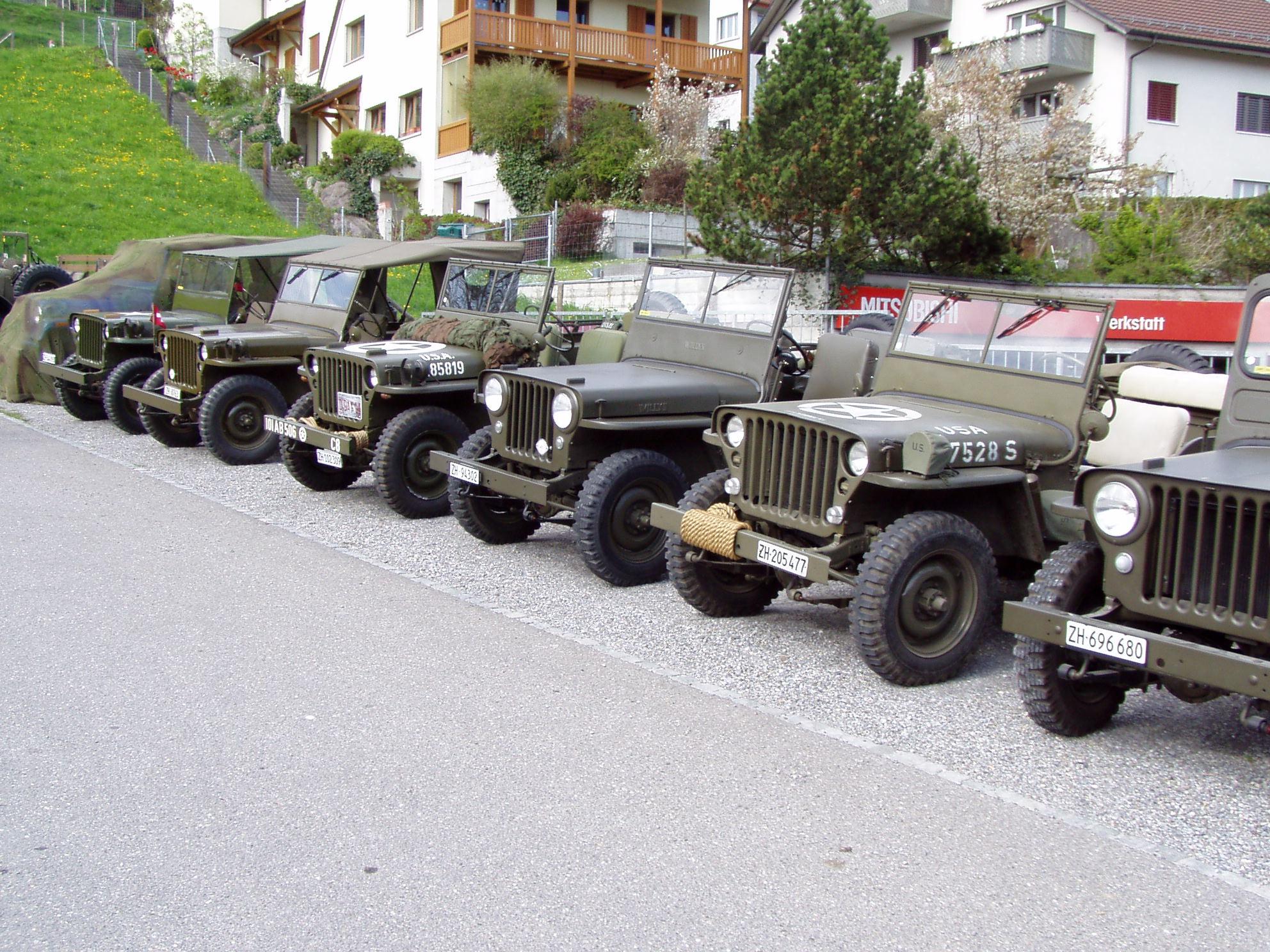 CJ2A militarizado en el Ejercito Suizo - Willys Argentina - 10 años!